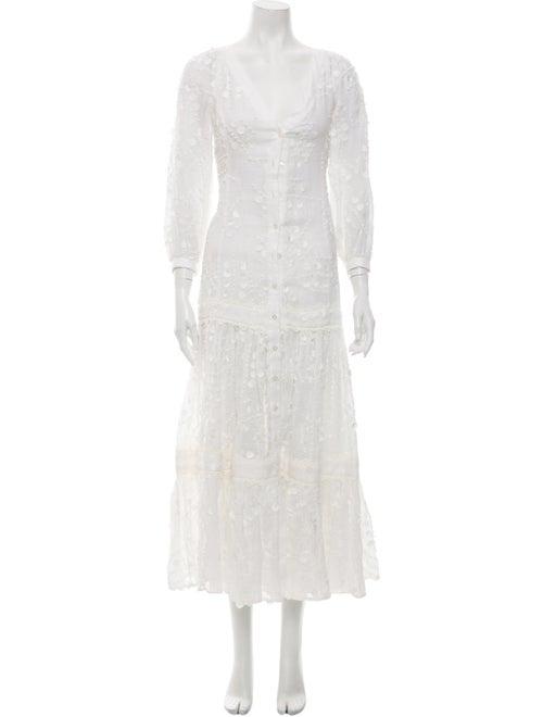 Alexis Linen Long Dress