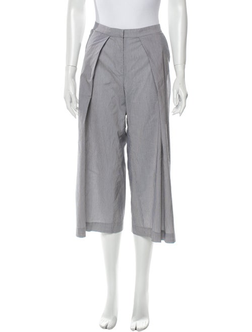 Alexis Striped Wide Leg Pants Grey