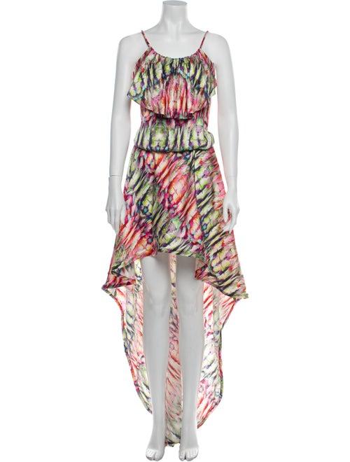 Alexis Silk Mini Dress Pink