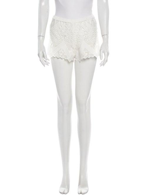 Alexis Mini Shorts White