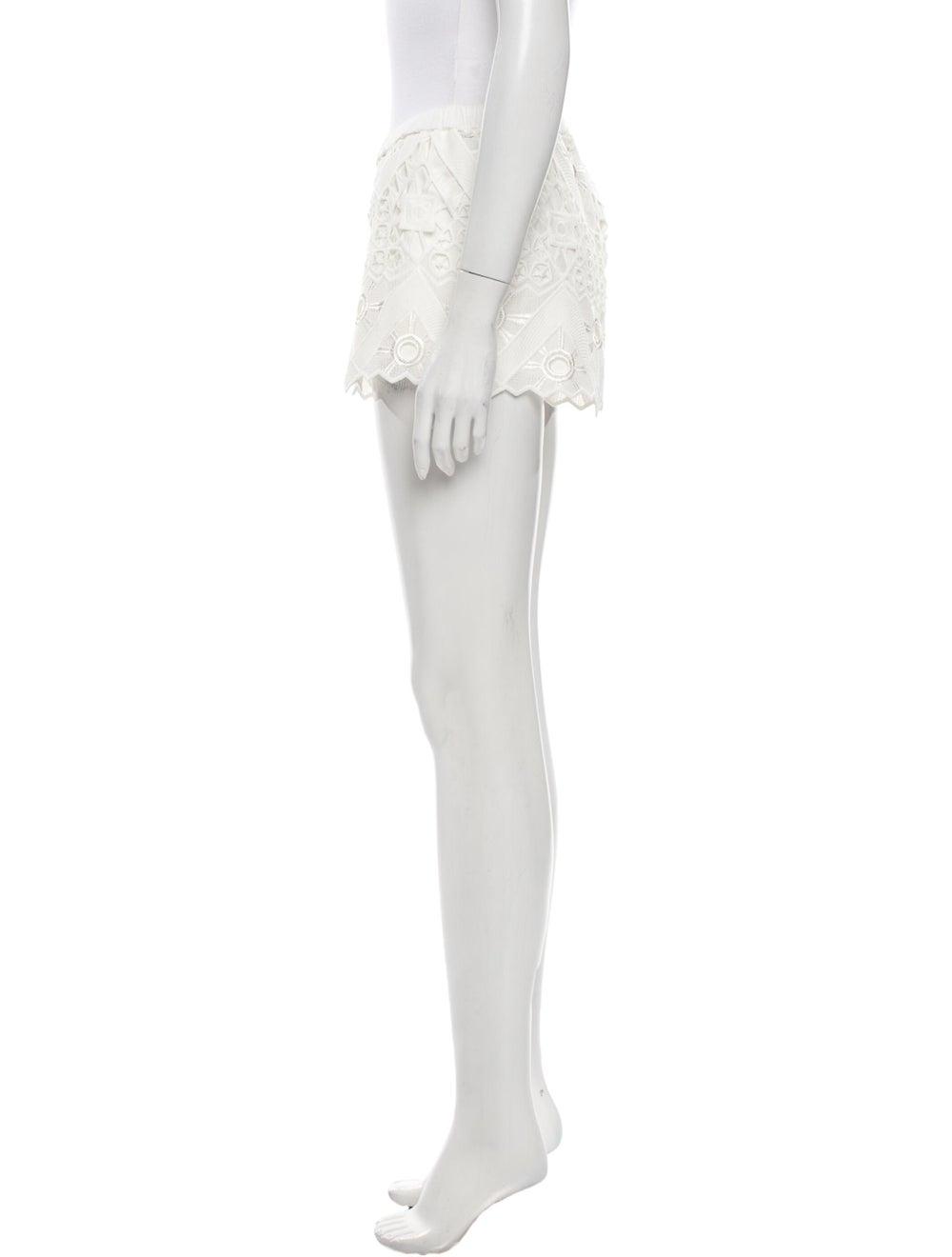 Alexis Mini Shorts White - image 2