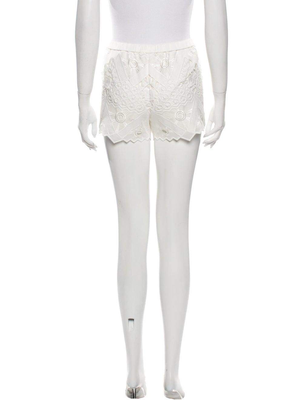 Alexis Mini Shorts White - image 3
