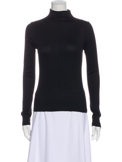 Alexis Turtleneck Long Sleeve Sweatshirt Black