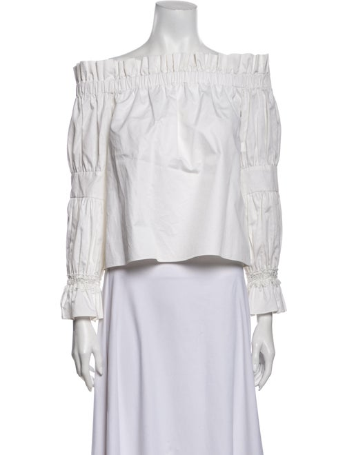 Alexis Off-The-Shoulder Long Sleeve Blouse