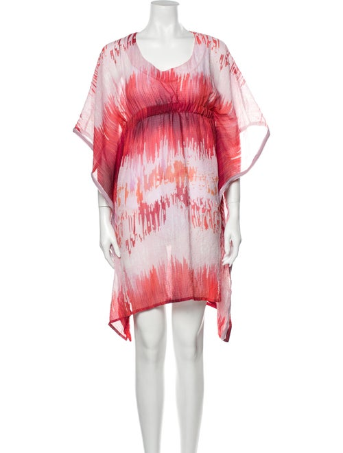 Alexis Printed Cover-Up Pink