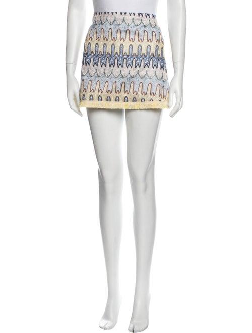Alexis Printed Mini Skirt