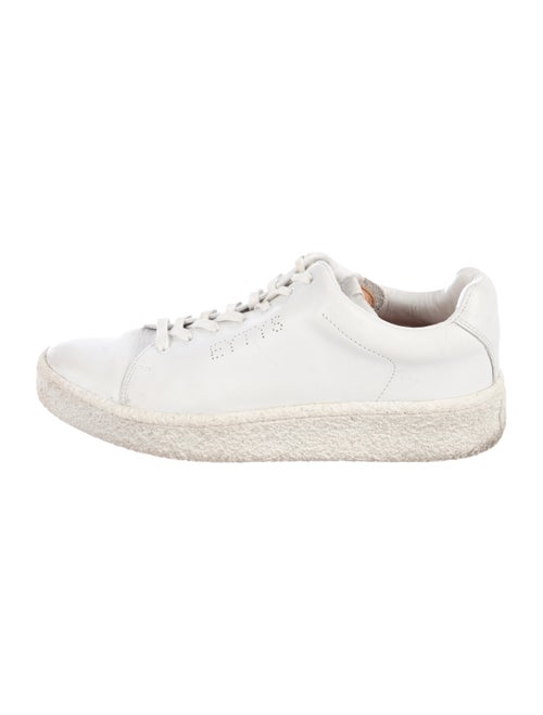 Eytys Leather Low-Top Sneakers White