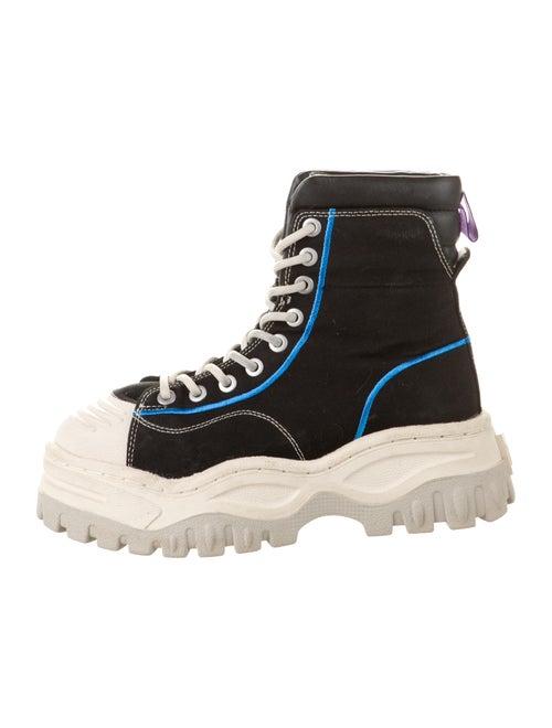 Eytys Canvas Platform Sneakers Black