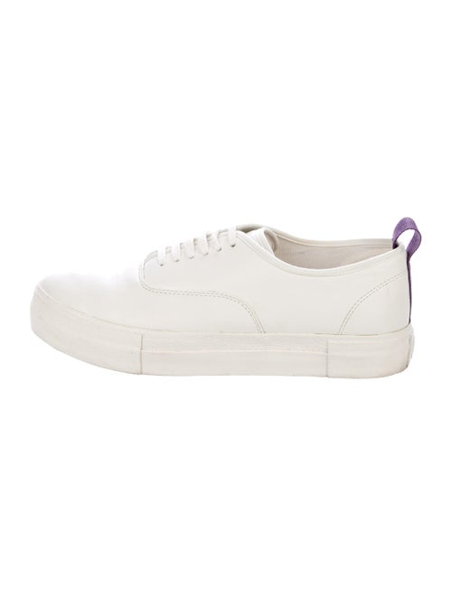 Eytys Leather Round-Toes Sneakers
