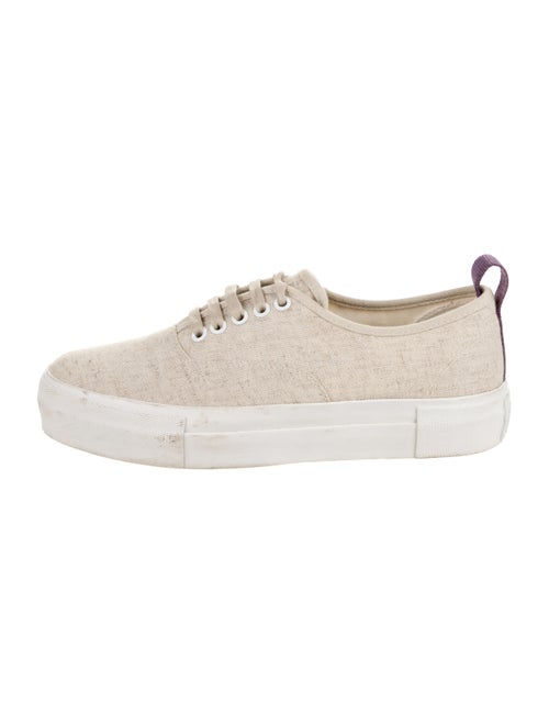 Eytys Canvas Low-Top Sneakers Tan
