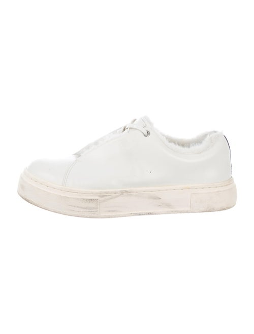 Eytys Leather Sneakers White