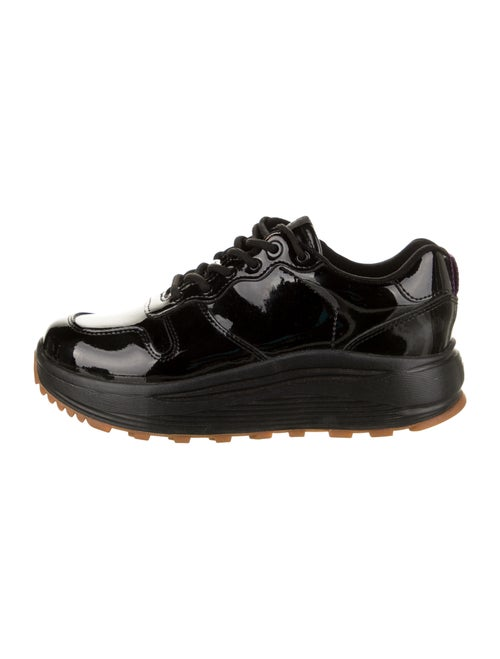 Eytys Patent Leather Sneakers Black