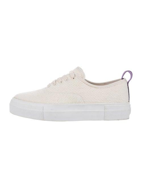 Eytys Grosgrain Trim Sneakers Purple