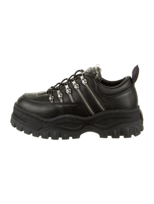 Eytys Leather Chunky Sneakers Black