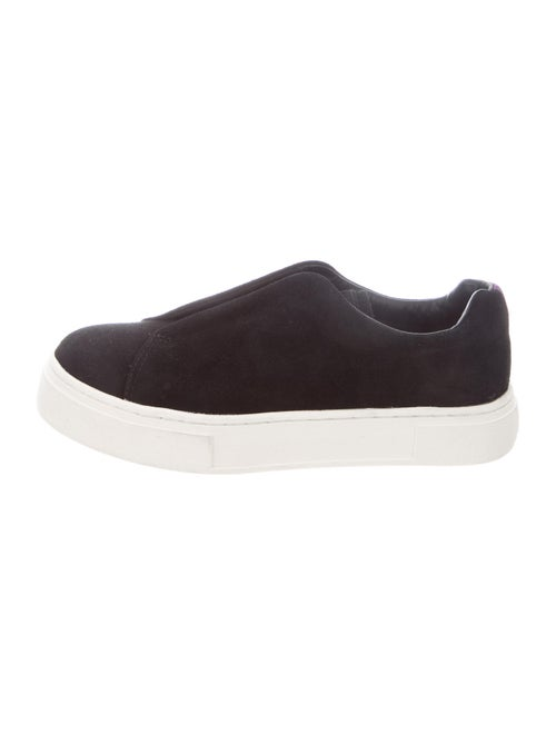 Eytys Suede Sneakers Black