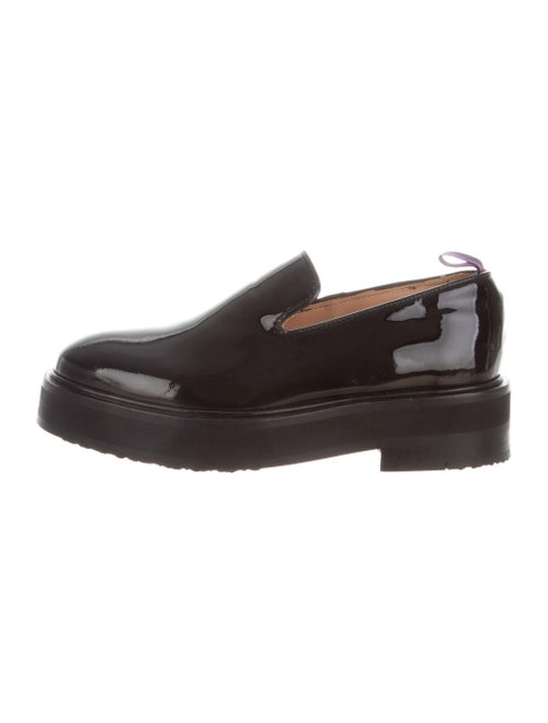 Eytys Patent Leather Loafers Black