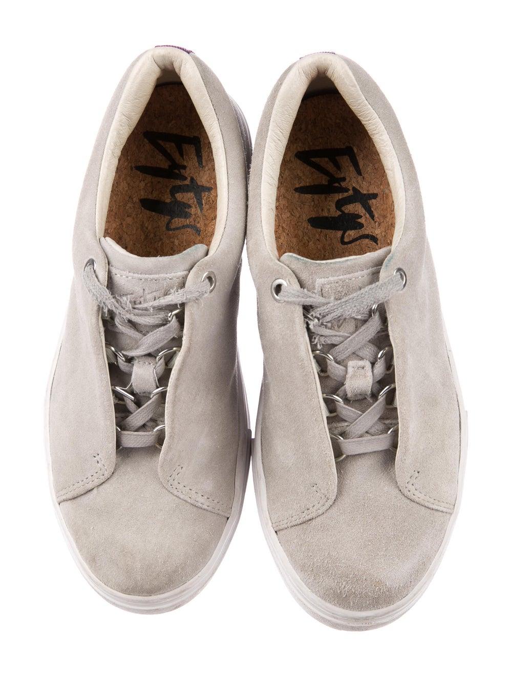 Eytys Suede Sneakers Grey - image 3