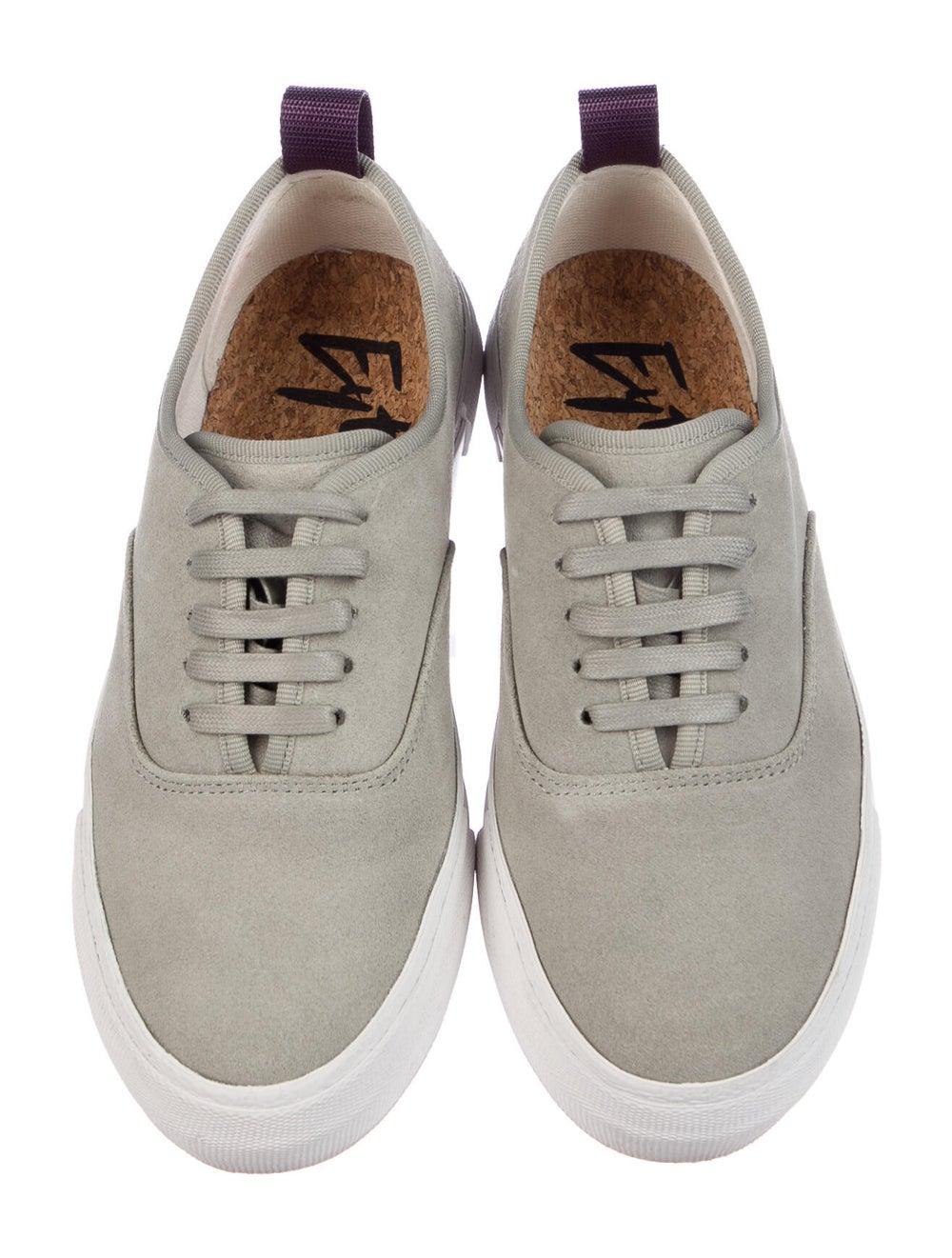 Eytys Suede Sneakers Green - image 3