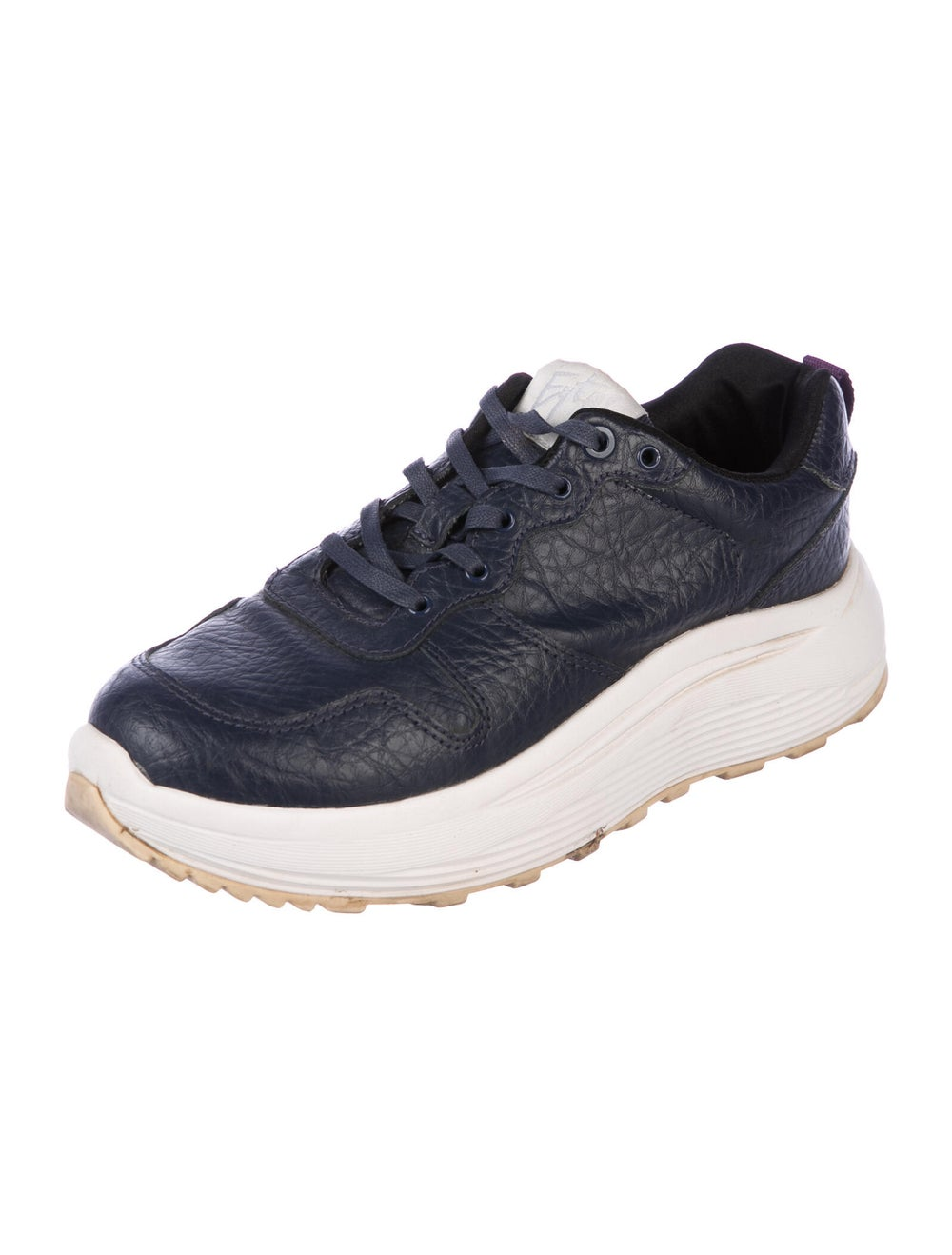 Eytys Leather Sneakers Blue - image 2