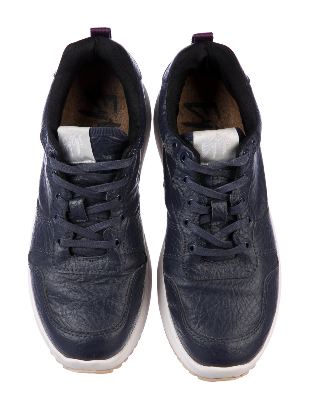 Eytys Leather Sneakers Blue - image 3