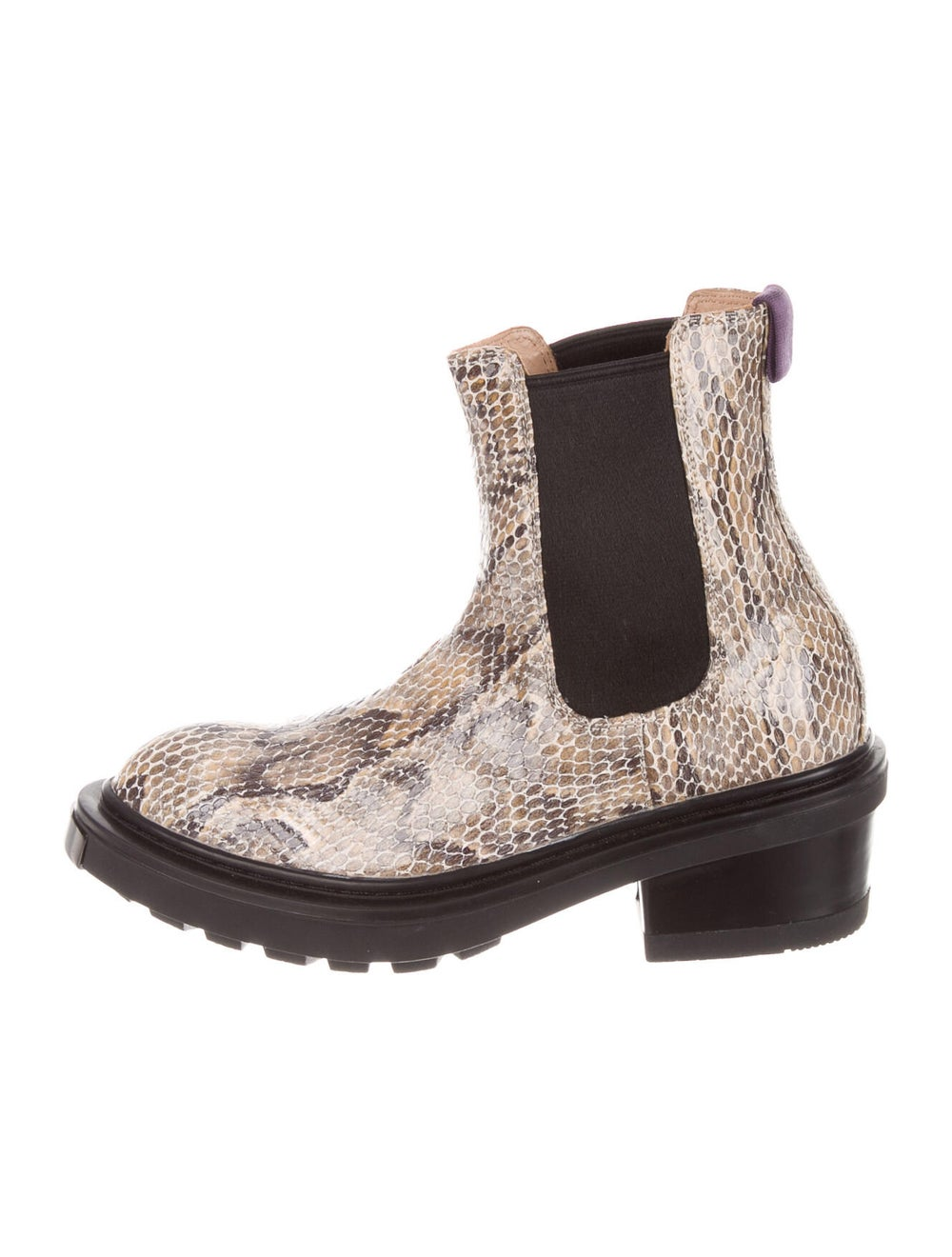 Eytys Embossed Leather Chelsea Boots - image 1