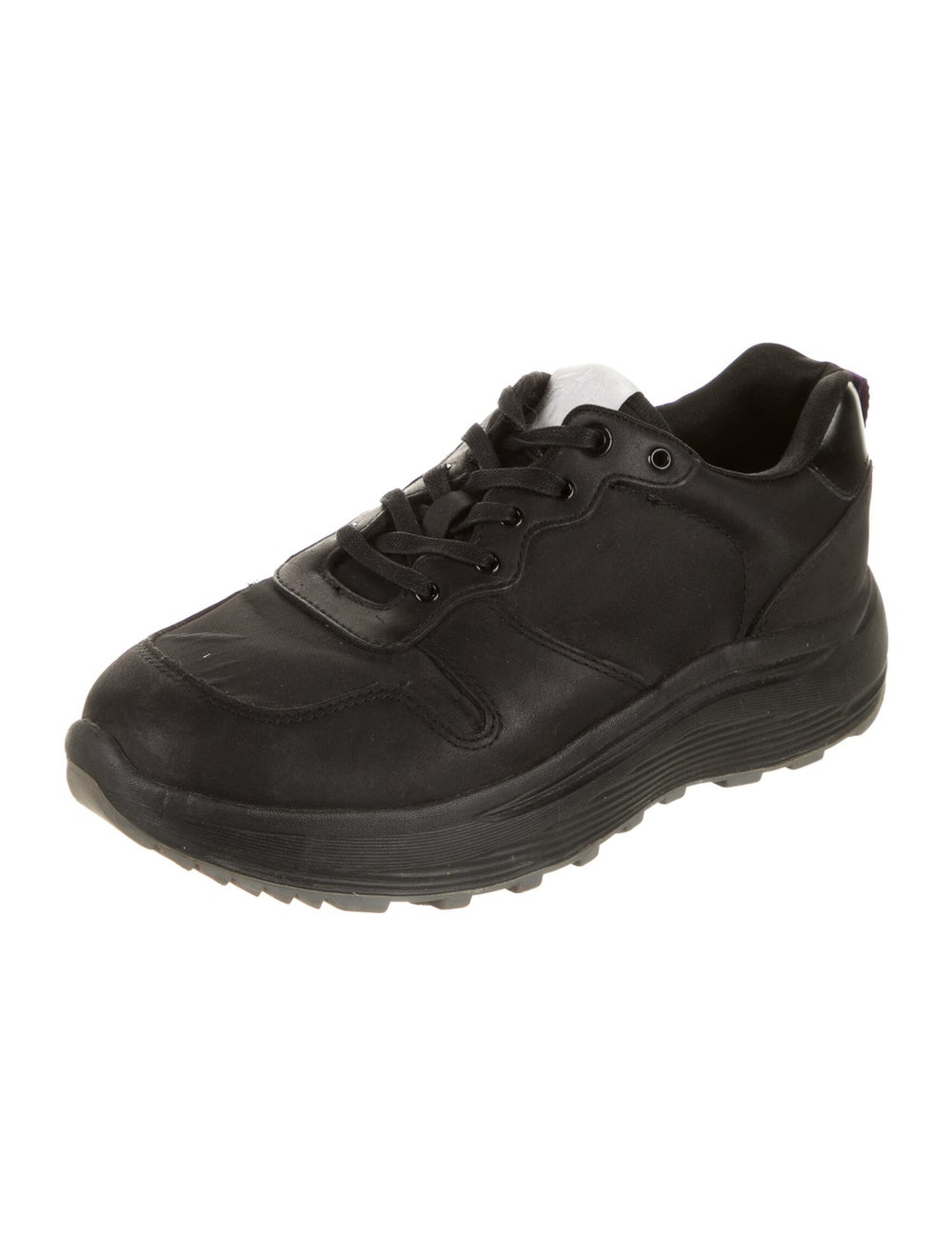 Eytys Leather Sneakers Black - image 2