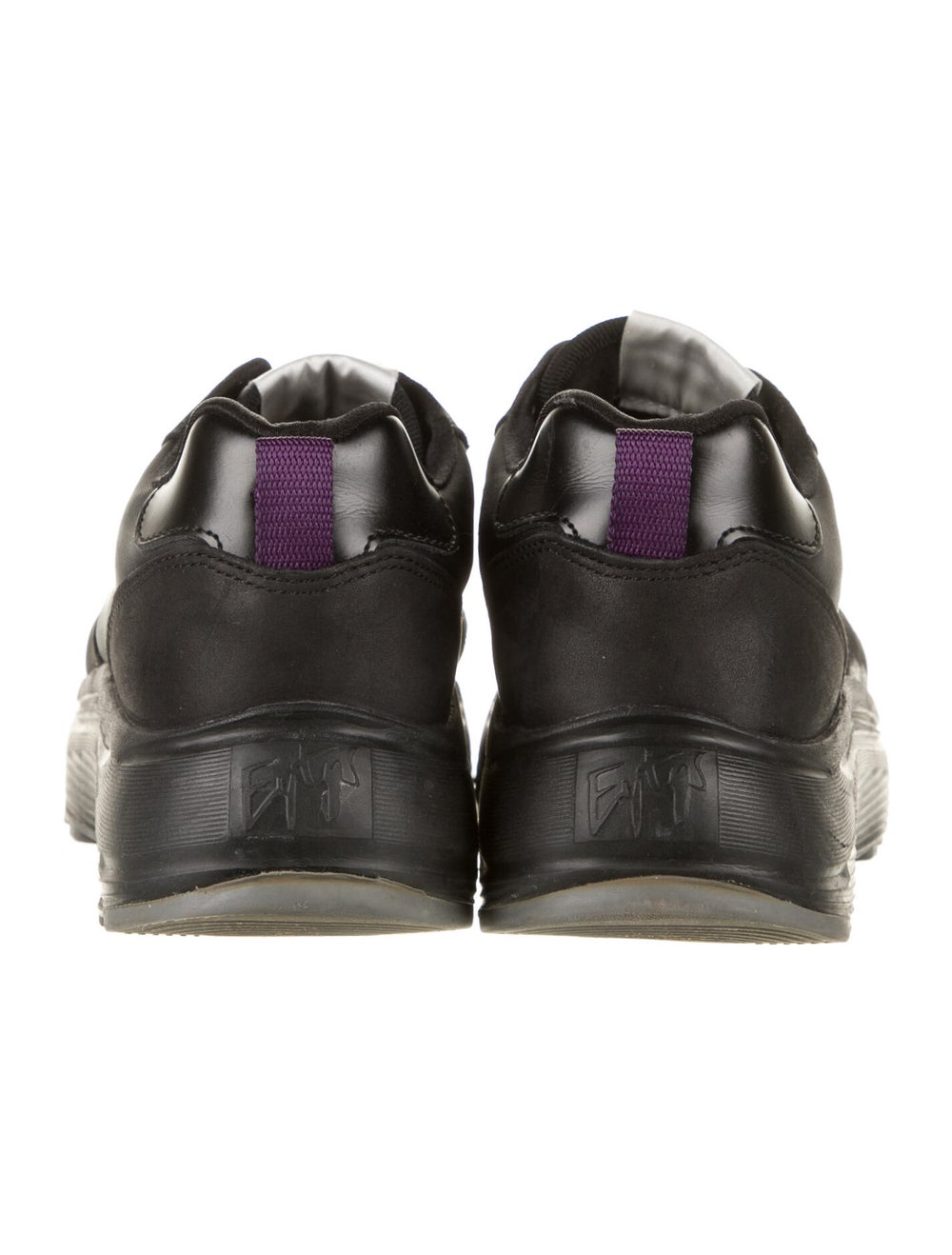 Eytys Leather Sneakers Black - image 4