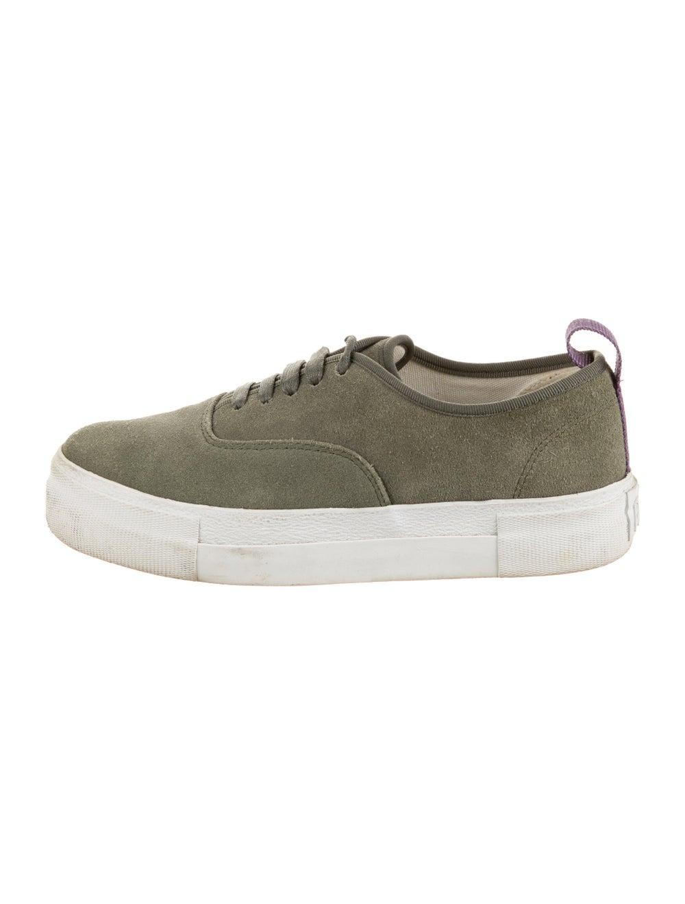 Eytys Suede Sneakers Green - image 1