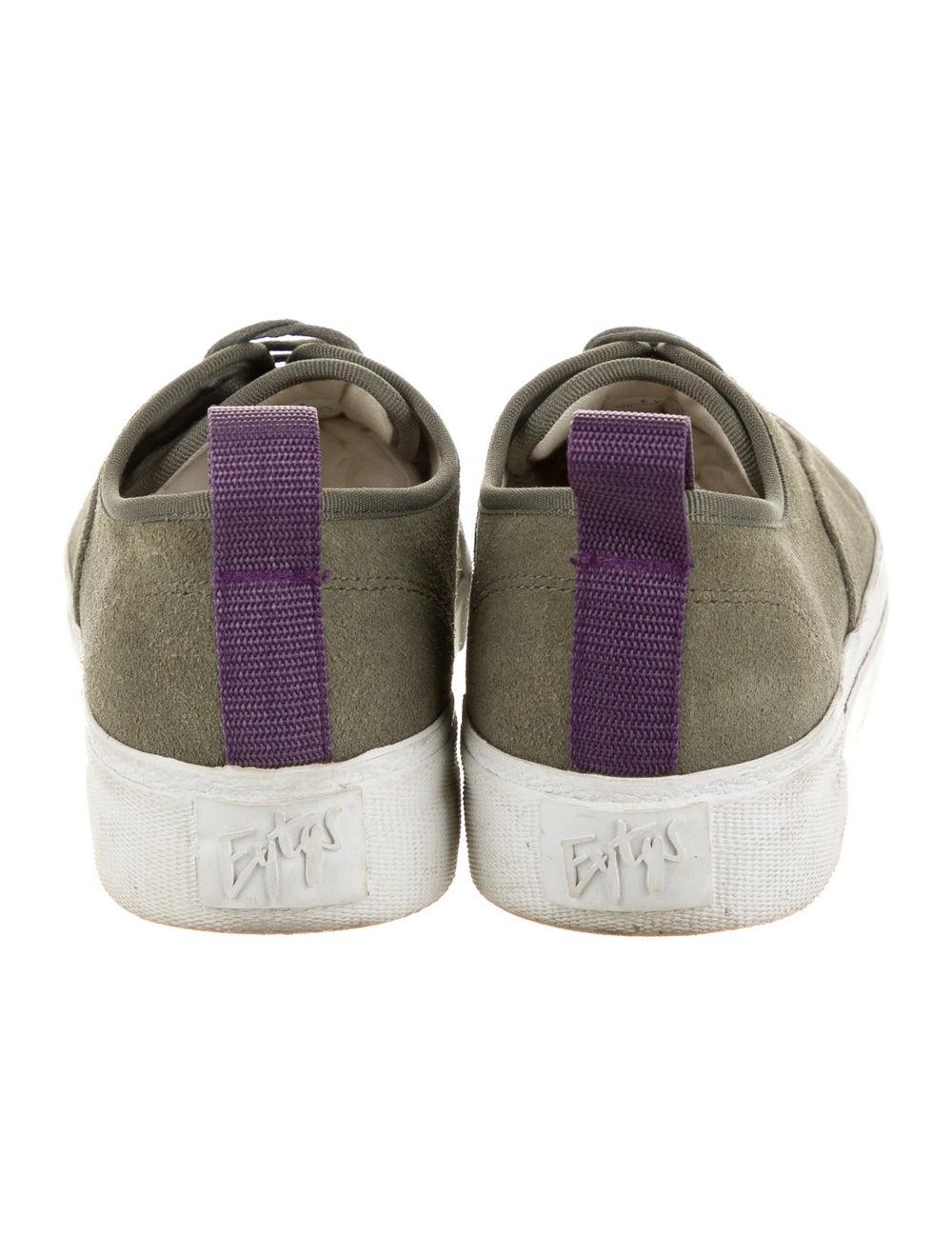 Eytys Suede Sneakers Green - image 4