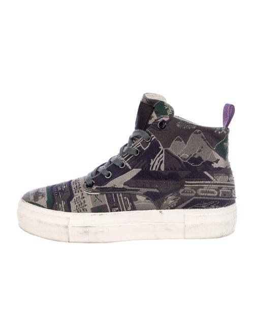 Eytys Printed Sneakers Green - image 1