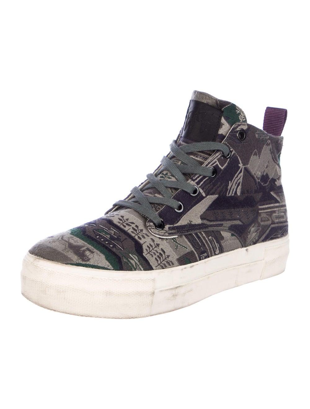 Eytys Printed Sneakers Green - image 2