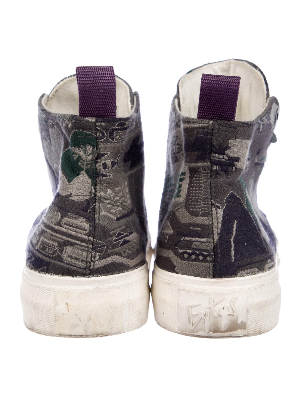 Eytys Printed Sneakers Green - image 4