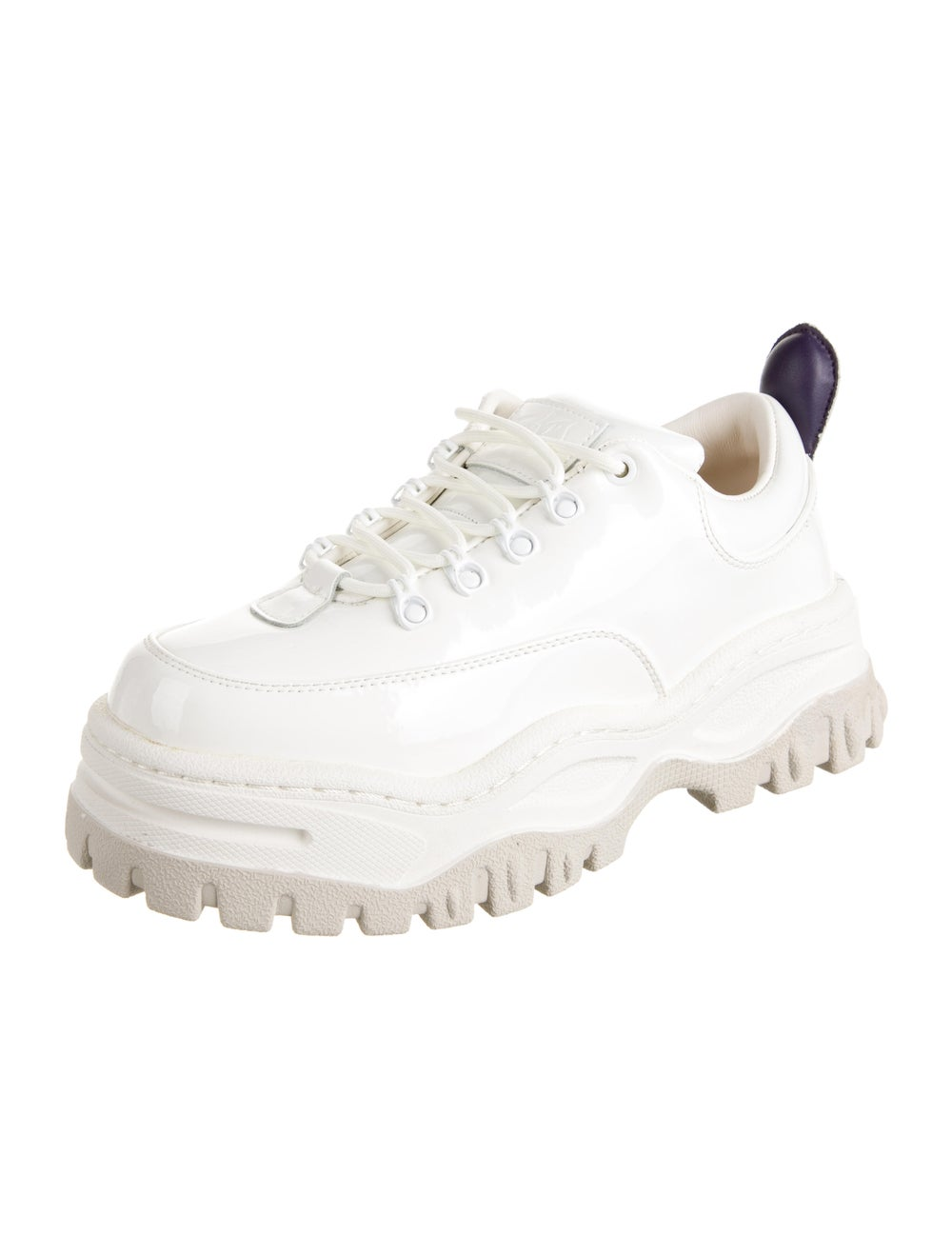 Eytys Leather Chunky Sneakers White - image 2