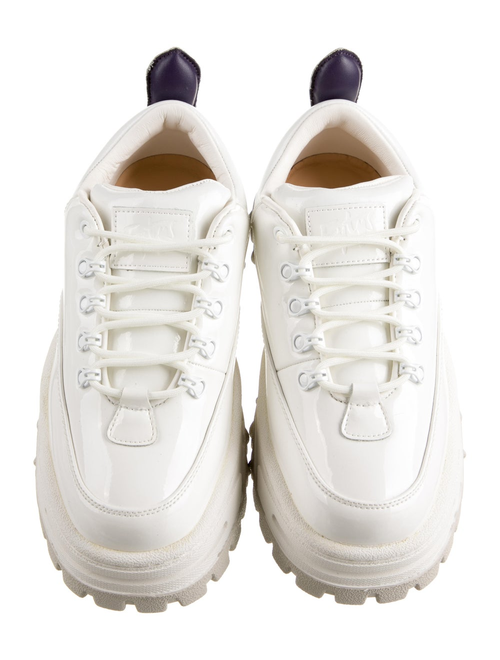 Eytys Leather Chunky Sneakers White - image 3