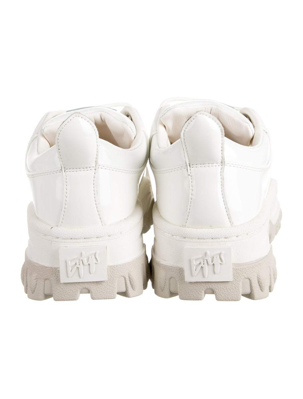 Eytys Leather Chunky Sneakers White - image 4