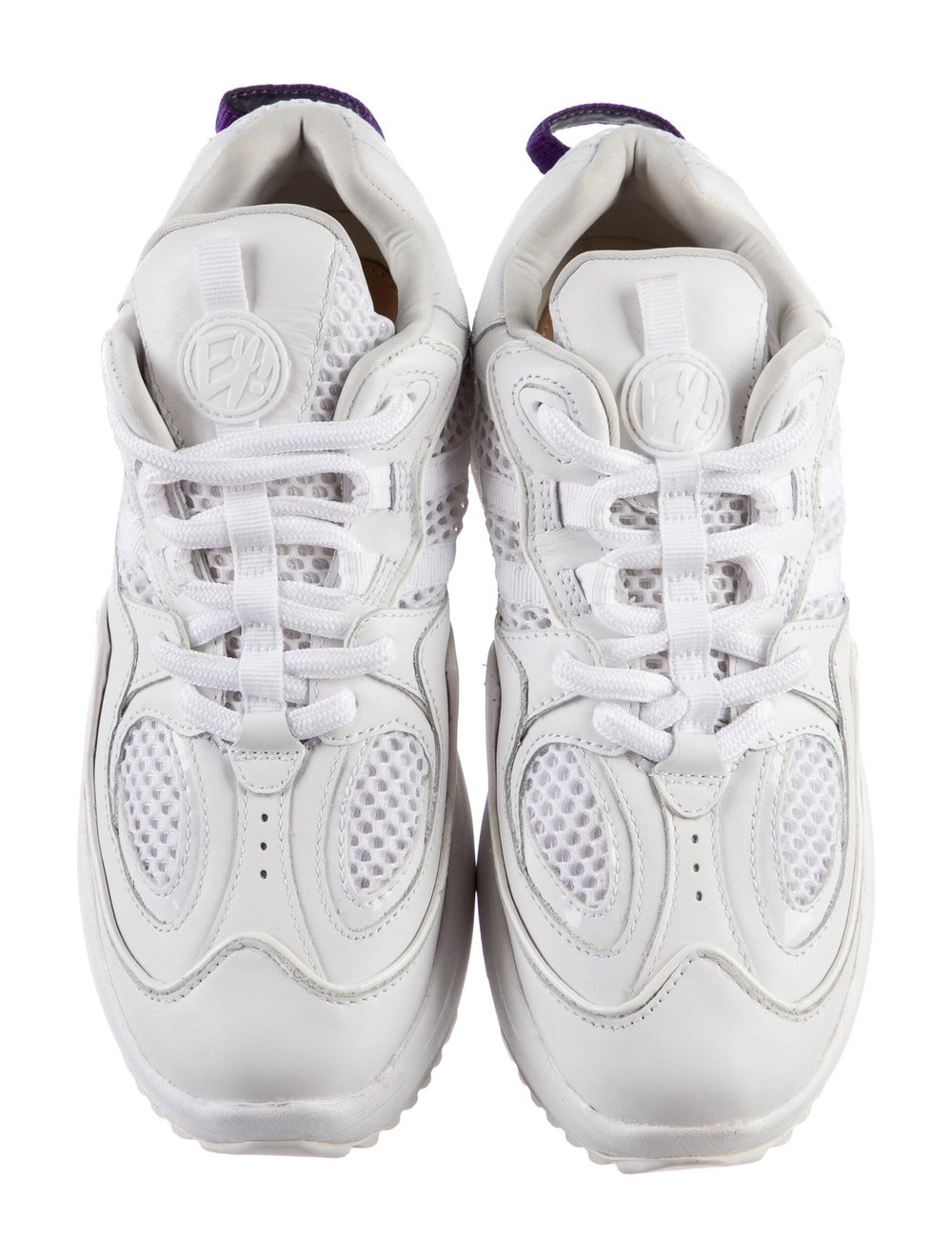 Eytys Leather Sneakers White - image 3
