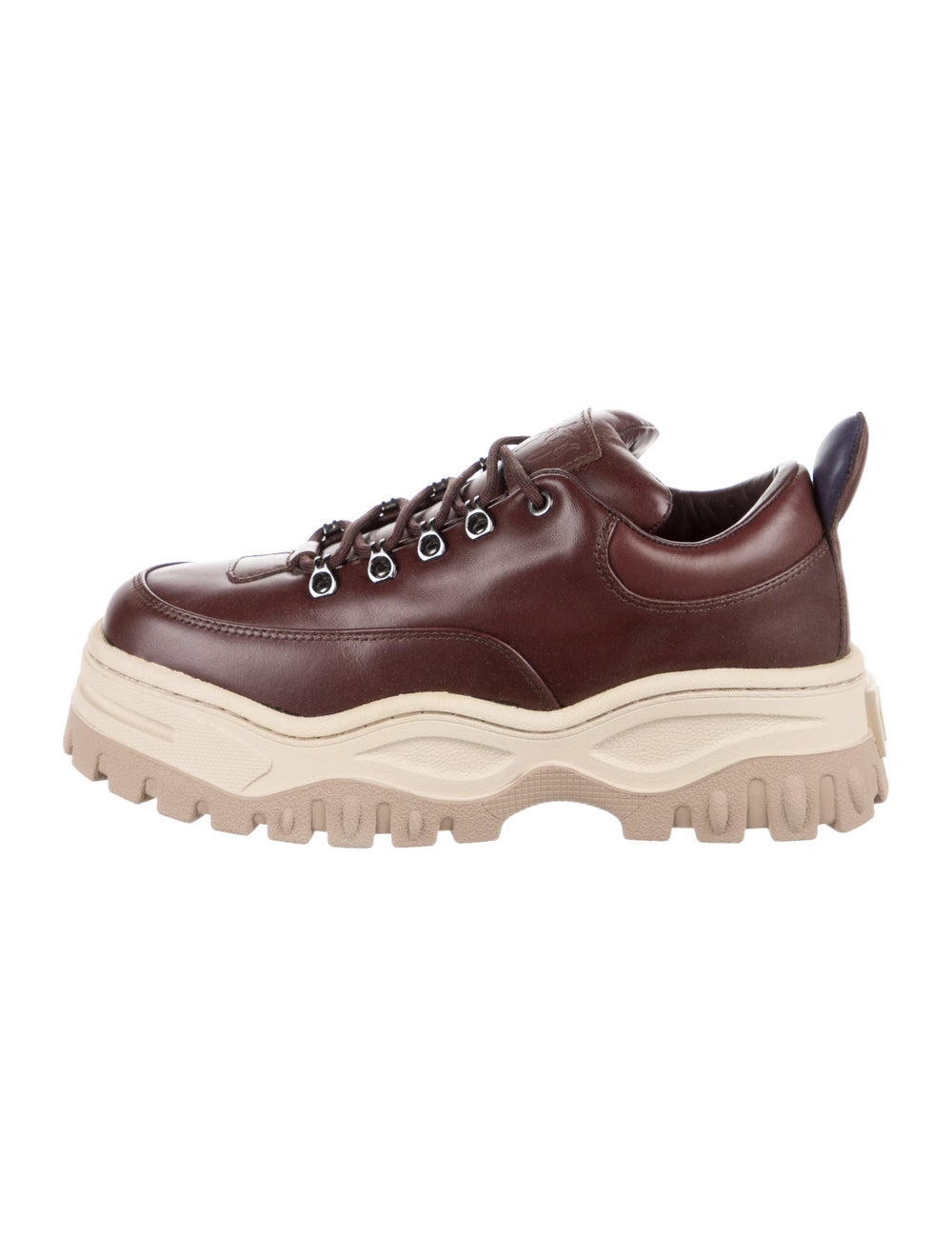 Eytys Leather Chunky Sneakers - image 1