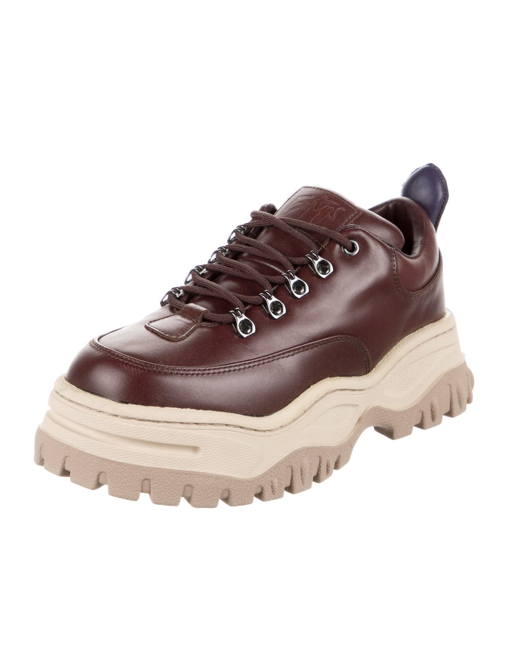 Eytys Leather Chunky Sneakers - image 2