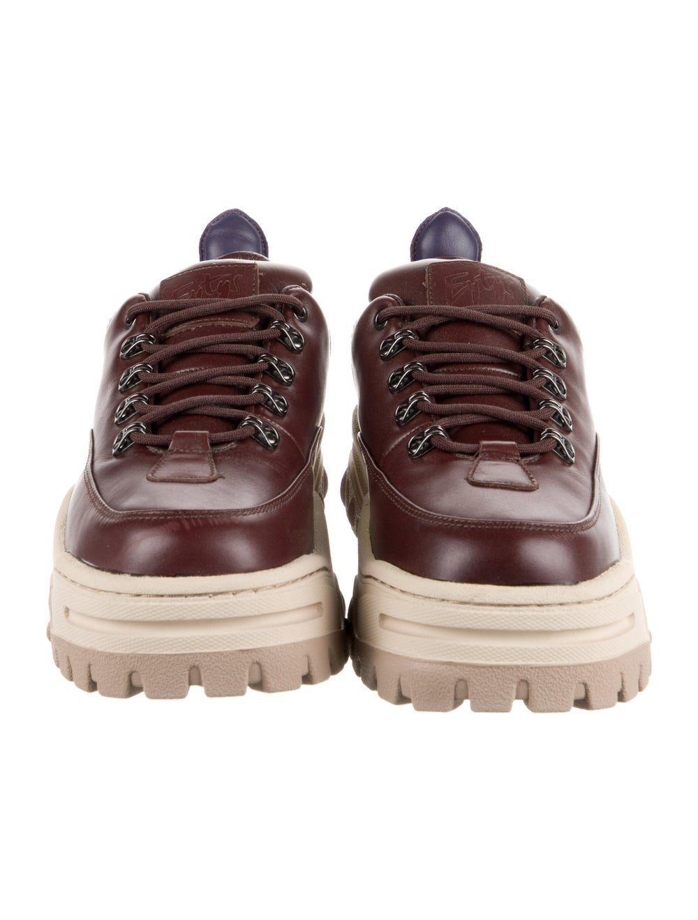 Eytys Leather Chunky Sneakers - image 3