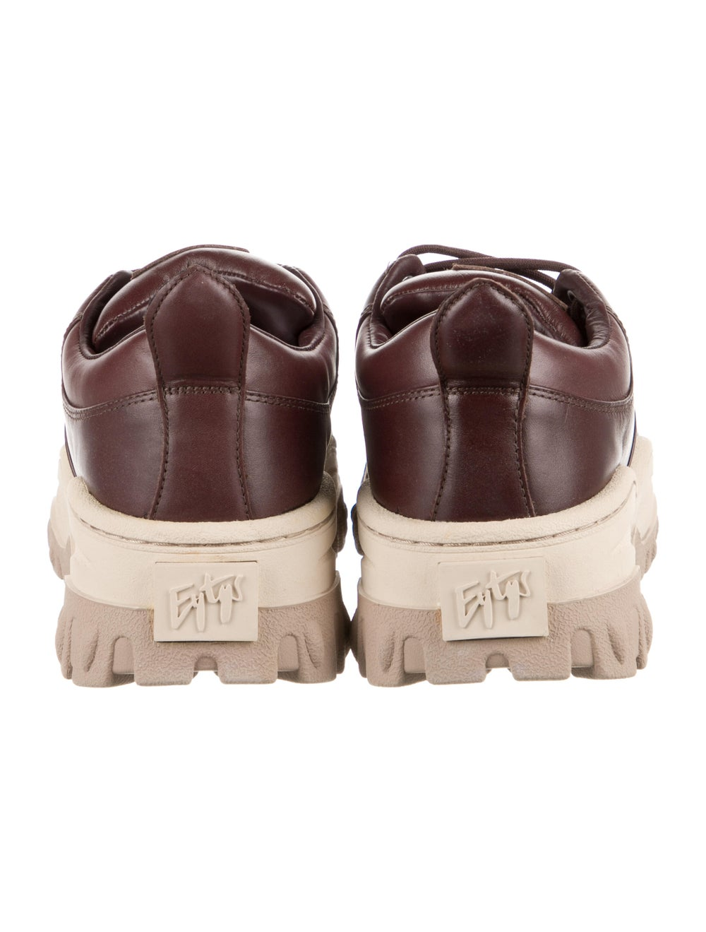 Eytys Leather Chunky Sneakers - image 4