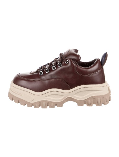 Eytys Leather Chunky Sneakers Brown - image 1