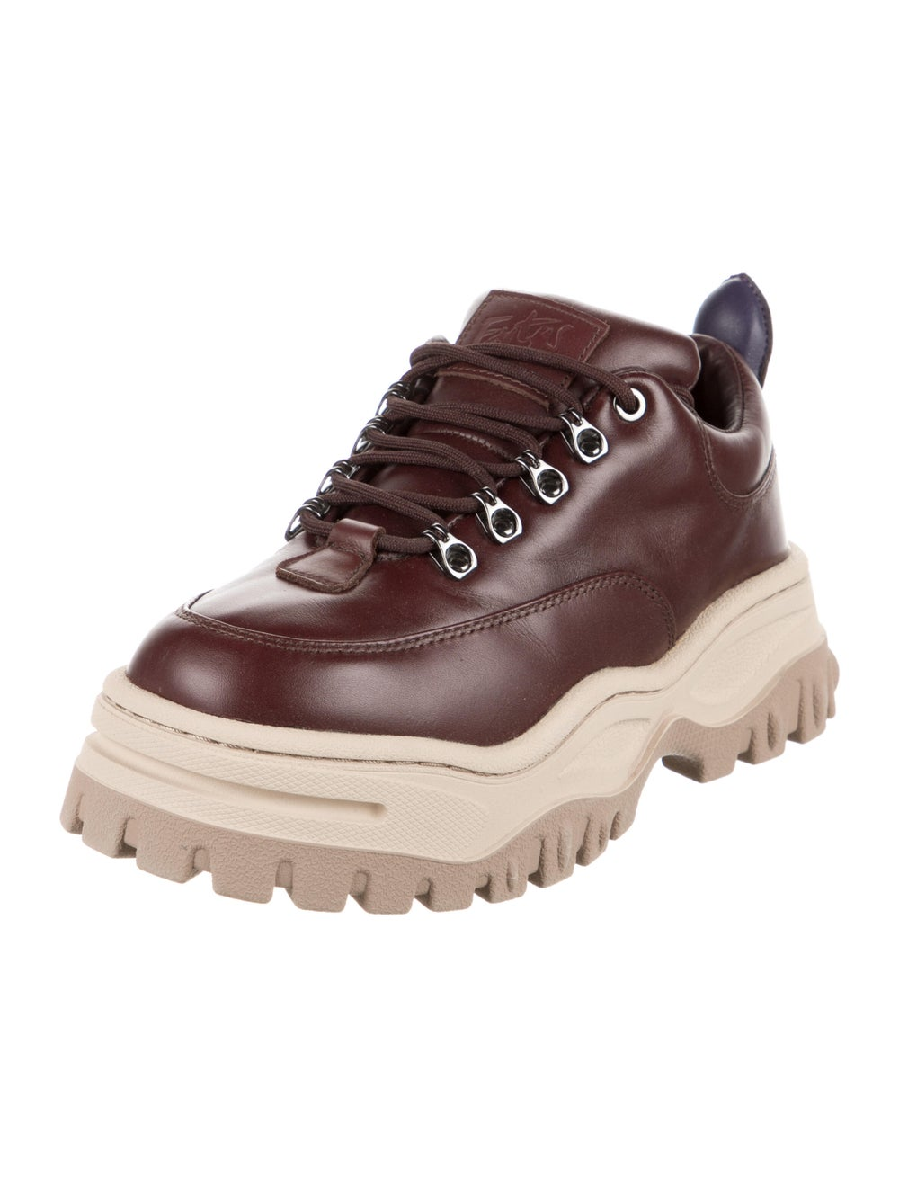 Eytys Leather Chunky Sneakers Brown - image 2