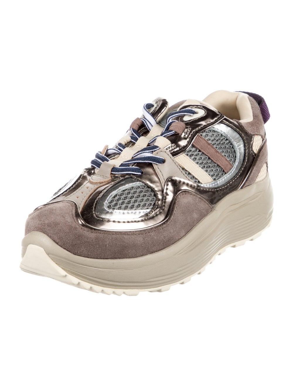 Eytys Suede Sneakers Brown - image 2