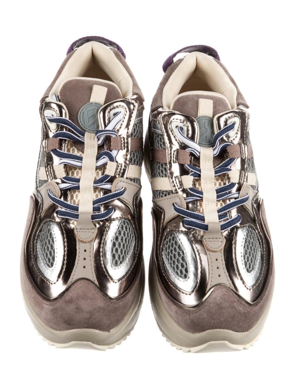 Eytys Suede Sneakers Brown - image 3