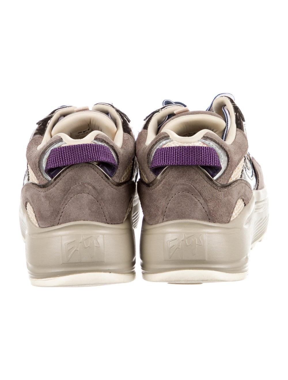 Eytys Suede Sneakers Brown - image 4