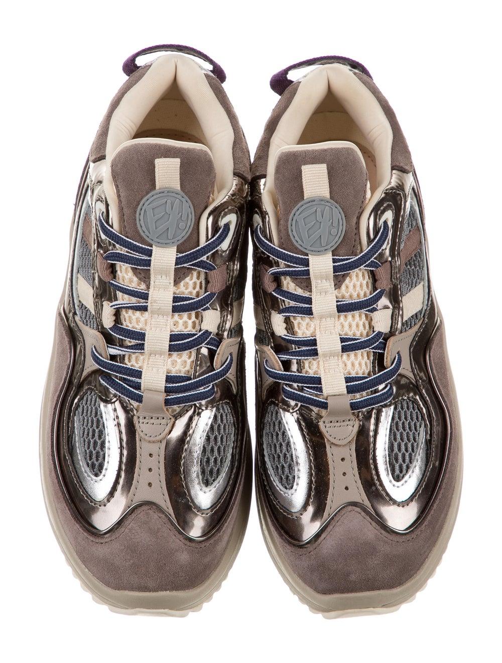 Eytys Jet Turbo Sneakers Brown - image 3