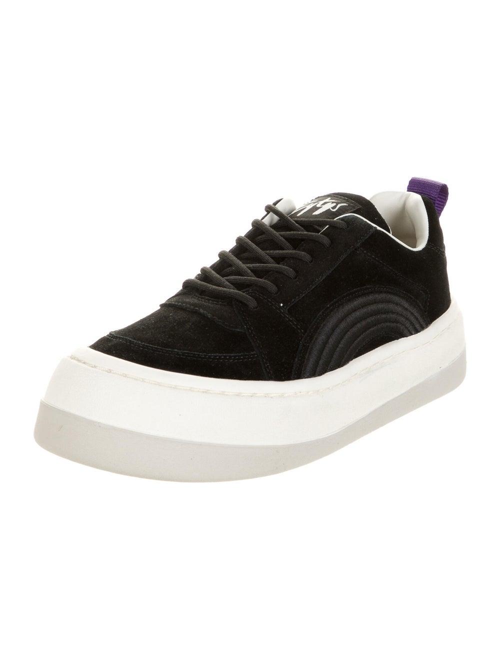 Eytys Suede Sneakers Black - image 2