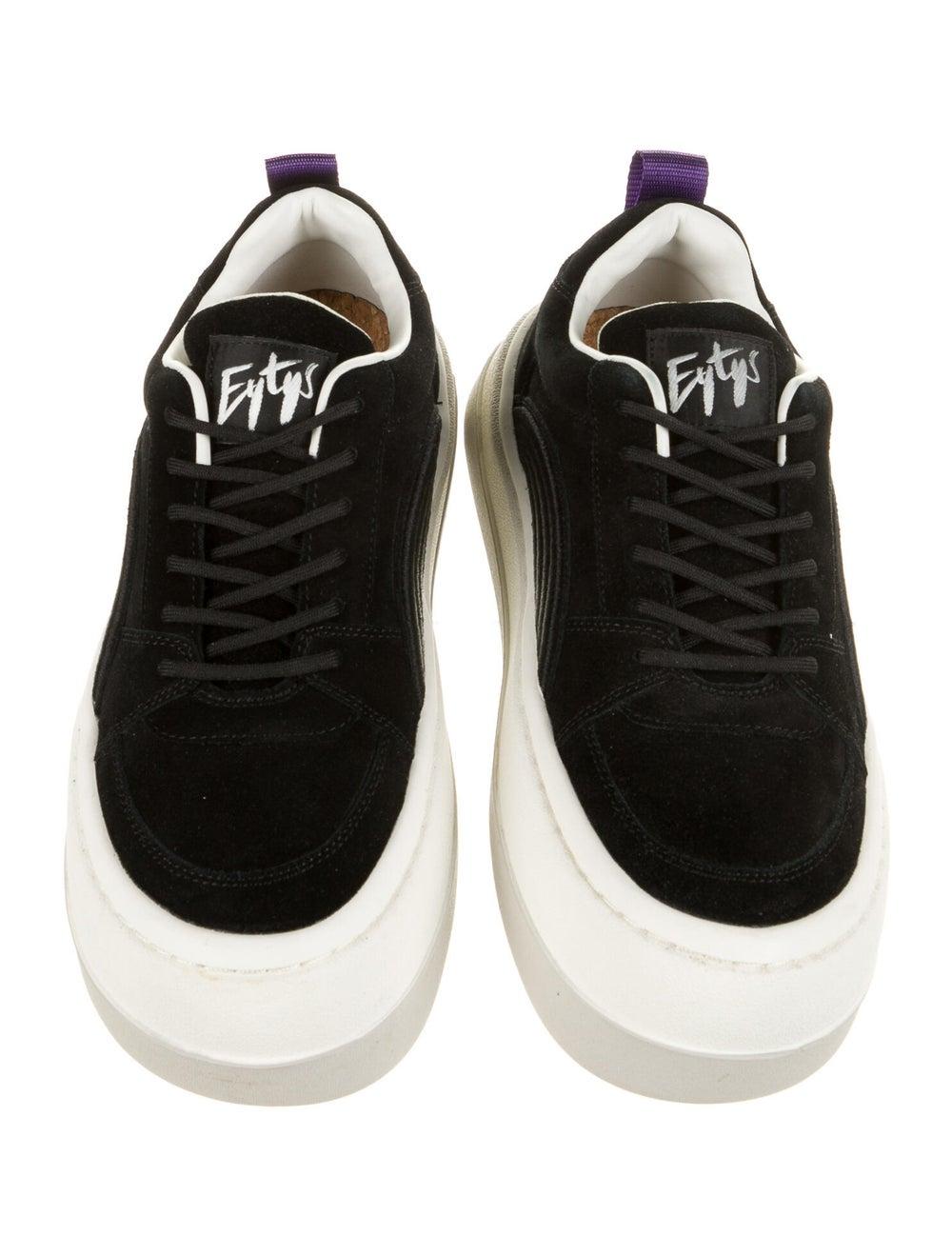Eytys Suede Sneakers Black - image 3