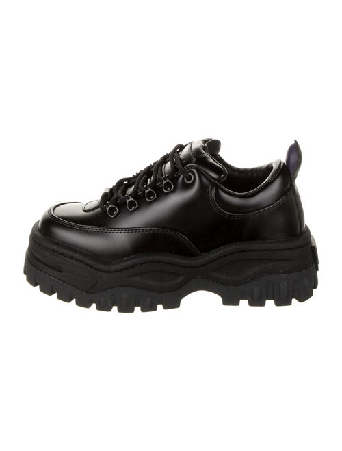 Eytys Leather Mesh Accents Chunky Sneakers w/ Tag… - image 1
