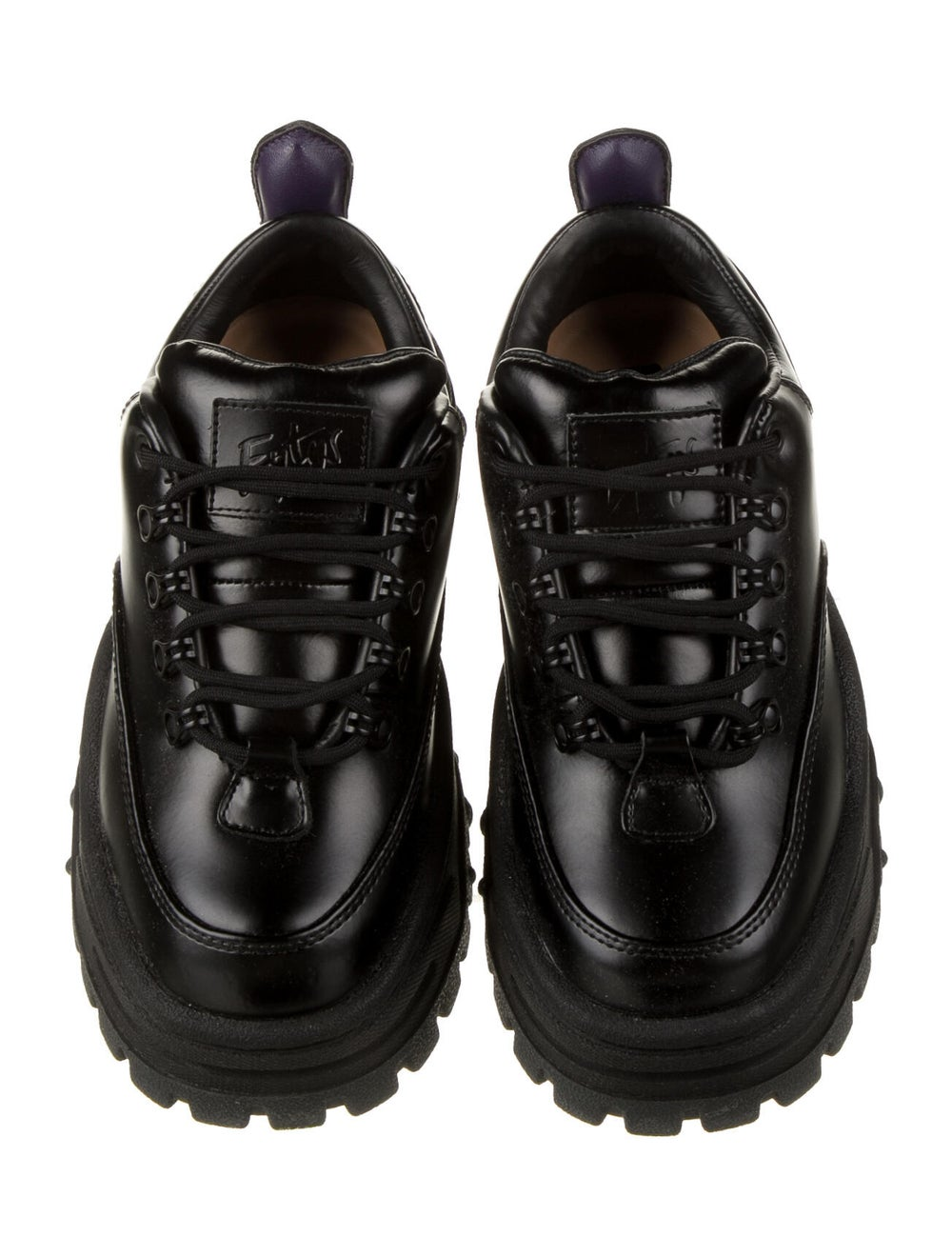 Eytys Leather Mesh Accents Chunky Sneakers w/ Tag… - image 3
